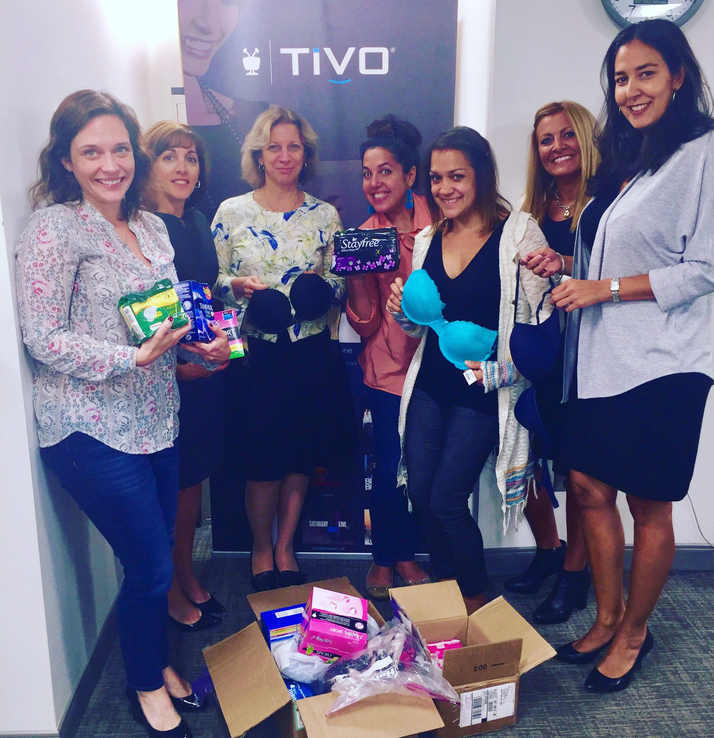 Donation drive by TiVo