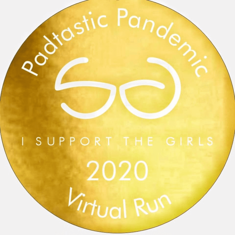 The Padtastic Pandemic Virtual Run 2020 Medal