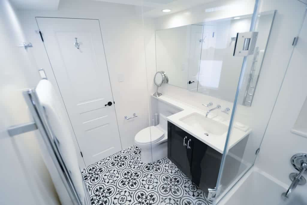 Featured Project: A Tale of Two Bathrooms.